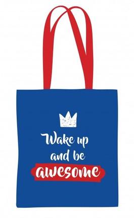 """Drobinis maišelis """"Be awesome"""""""