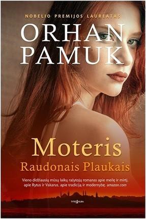 MOTERIS RAUDONAIS PLAUKAIS: su beveik mitiniu įkarščiu papasakota istorija apie šeimą ir aistrą, apie jaunystę ir brandą, apie amžinai sudėtingus sūnaus ir tėvo santykius ir žmogžudystės nuojautą, tvyrančią ore