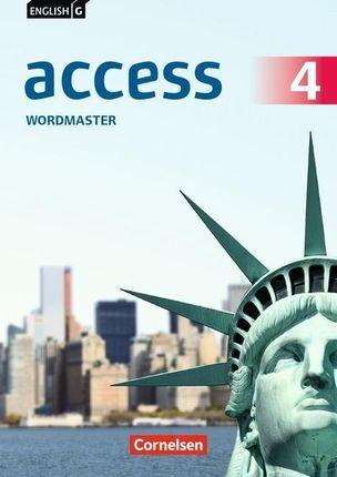 English G Access  Band 4: 8. Schuljahr - Allgemeine Ausgabe - Wordmaster mit Lösungen