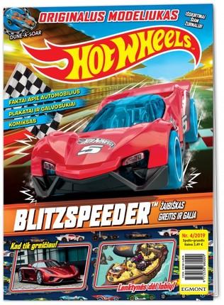 Hot Wheels. Greiti ratai. Žurnalas. Nr 4