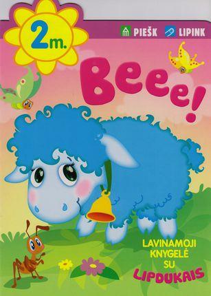 Beee! Lavinamoji knygelė su lipdukais