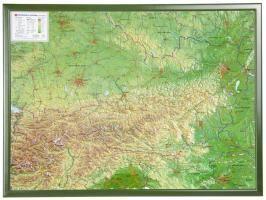 Österreich 1 : 800.000 mit Rahmen