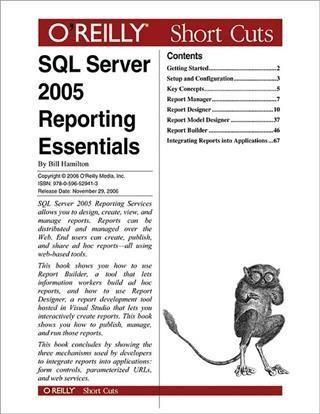 SQL Server 2005 Reporting Essentials
