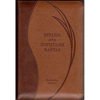 Biblija. Ekumeninis leidimas. Su užtrauktuku