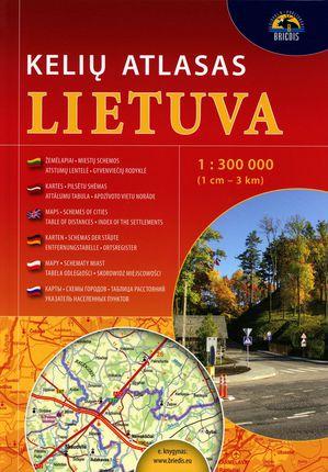 Lietuva. Kelių atlasas. 1 : 300 000