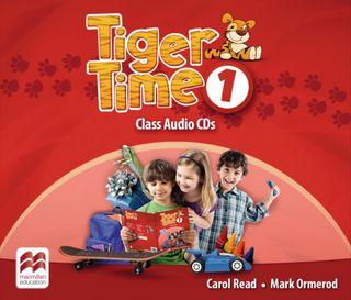 Tiger Time 1. 4 Class Audio-CDs