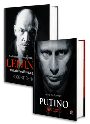 PUTINO PASLAPTIS: akis atverianti pažintis su įtakingiausiu XXI amžiaus žmogumi + LENINAS: militaristinės Rusijos gimimas