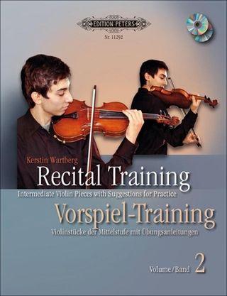 Recital Training Vol. 2 with 2 CDs / Vorspieltraining Band 2 mit 2 CDs