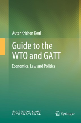 Guide to the WTO and GATT