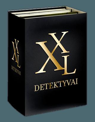 """Rinkinys """"Detektyvai XXL"""": Kiparisų namai + Vienas šūvis + Avinėlių tylėjimas"""