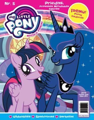 Mažieji poniai. My little pony. Žurnalas. Nr 5