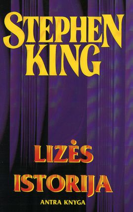 Lizės istorija 2 knyga