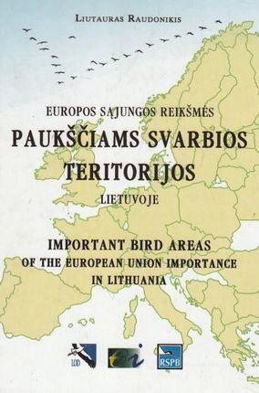 Europos Sąjungos reikšmės paukščiams svarbios teritorijos Lietuvoje