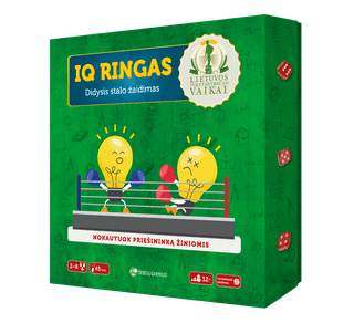 IQ ringas. Didysis stalo žaidimas