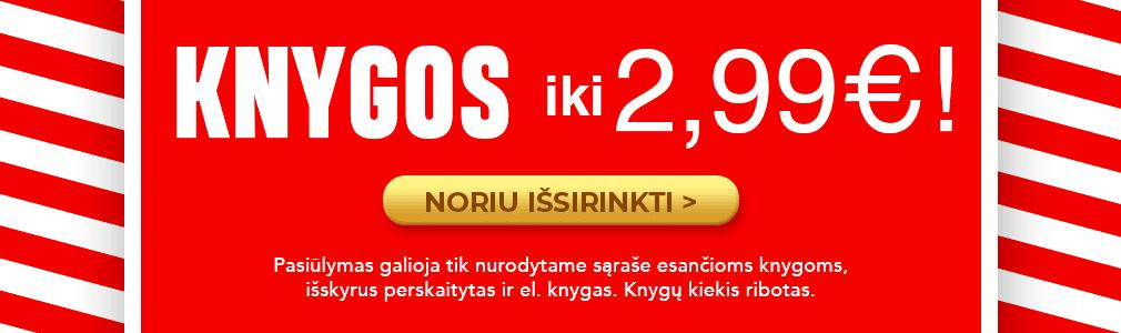 Knygos iki 2,99 €
