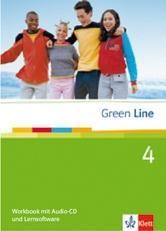 Green Line 4. Workbook mit Audio CD und Lernsoftware.