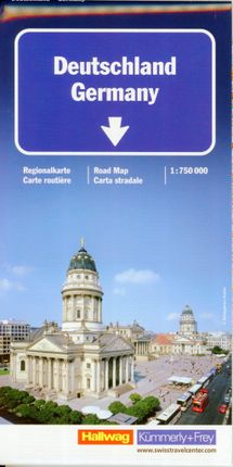 KuF Deutschland Straßenkarte 1 : 750 000