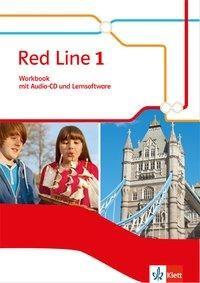 Red Line 1. Workbook mit Audio-CD und Lernsoftware. Ausgabe 2014