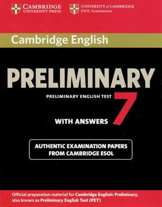 Cambridge Preliminary English Test 7 / Student's Book with answers