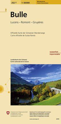 Swisstopo 1 : 50 000 Bulle