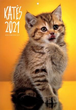 2021 m. sieninis kalendorius Katės