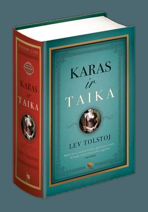 KARAS IR TAIKA: geriausia pasaulyje knyga - pirmą kartą lietuviškai Levo Tolstojaus amžino bestselerio visi 4 tomai vienoje knygoje kietais viršeliais, 1200 puslapių riboto tiražo kolekcinis leidimas, išspausdintas specialiu KNYGOS.lt užsakymu