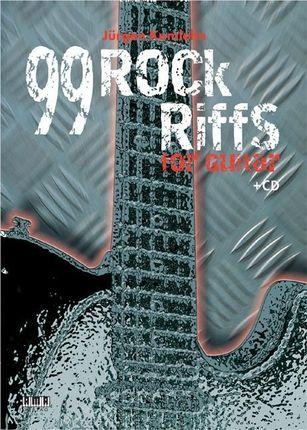 99 Rock Riffs for Guitar