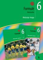 Formulė. Matematika VI klasei. Mokytojo knyga. Antroji dalis (ŠOK)