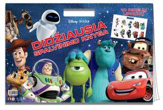 Disney/Pixar. Didžiausia spalvinimo knyga