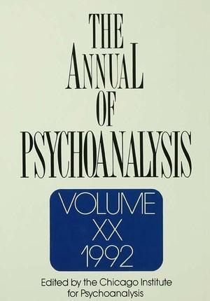 The Annual of Psychoanalysis, V. 20