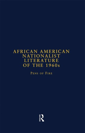 African American Nationalist Literature of the 1960s