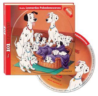 101 dalmatinas. Audioknyga