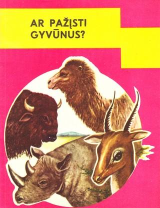 Ar pažįsti gyvūnus?