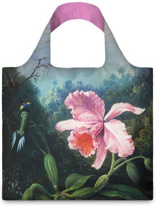 "LOQI pirkinių krepšys ""Martin Johnson Heade: Still Life with Orchid and Pair of Hummingbirds"""