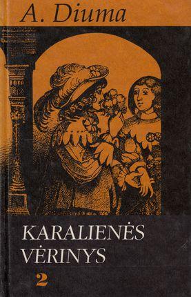 Karalienės vėrinys. 2 knyga