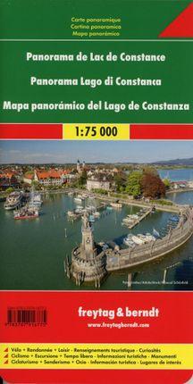 Bodensee Panoramakarte 1:75.000