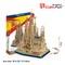 3D dėlionė: Sagrada Familia