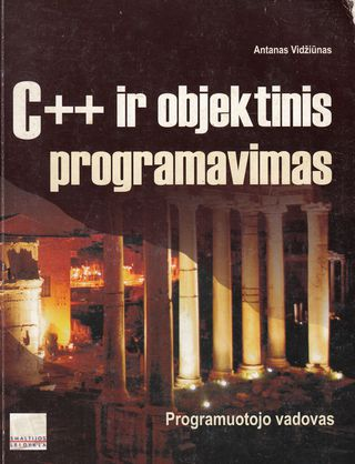 C++ ir objektinis programavimas
