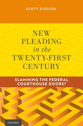 New Pleading in the Twenty-First Century