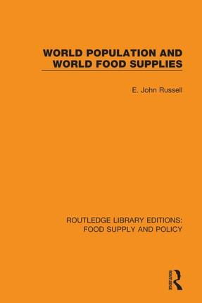 World Population and World Food Supplies