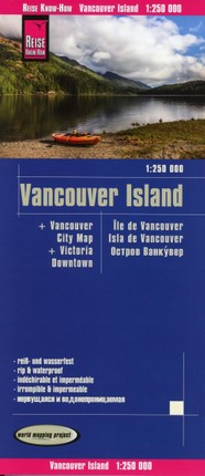 Reise Know-How Landkarte Vancouver Island 1:250.000