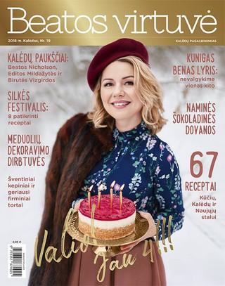 Beatos virtuvė. Žurnalas. Žiema Nr. 19 (2018)