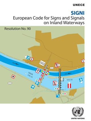 SIGNI - European Code for Signs and Signals on Inland Waterways