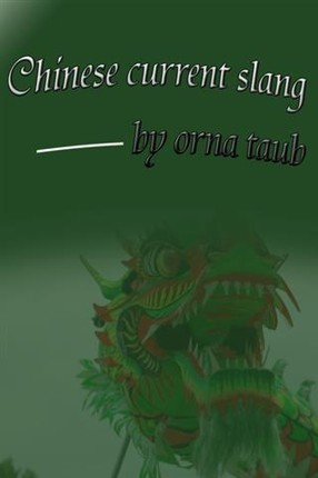 Chinese Current Slang