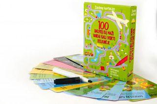 100 dalykų, ką maži vaikai gali veikti kelionėje