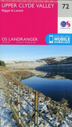 Upper Clyde Valley, Biggar & Lanark  1 : 50 000