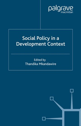 Social Policy in a Development Context
