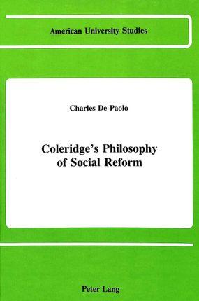 Coleridge's Philosophy of Social Reform