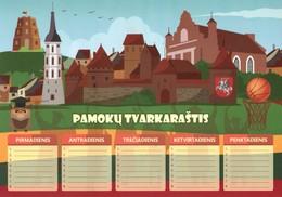 Pamokų tvarkaraštis (Vilnius)