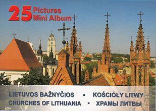Lietuvos bažnyčios. Mini albumas